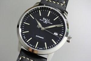 日本未発売スイス製BALLWATCH【ボール・ウォッチ】ストークマン・ナイトトレイン自動巻き腕時計/並行輸入品/送料無料/StokemanNightTrain/マイクロガスライト
