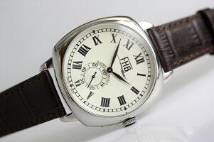 スイス製FHBClassicデザインウォッチ/映画着用モデル/クッション型ケース腕時計