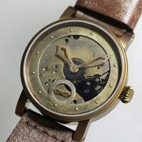 ドイツ製SCHAUBURGWATCH【シャウボーグ・ウォッチ】スチームパンク手巻き腕時計/正規代理店商品/新品未使用
