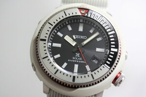 SEIKO【セイコー】PROSPEX【プロスペック】日本未発売のソーラーダイバーズ200m防水クォーツ腕時計/ツナ缶/送料無料/ホワイト/