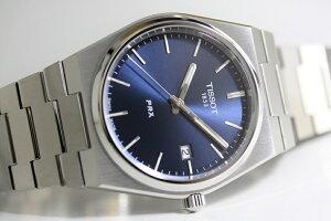 スイス製TissotティソPRXピーアールエックスクォーツ腕時計正規代理店商品男性用腕時計10気圧防水メーカー保証付復刻モデルT-クラシックT137.410.11.041.00