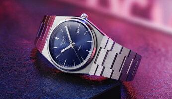 スイス製Tissot【ティソ】PRX[ピーアールエックス]クォーツ腕時計/正規代理店商品/男性用腕時計/Quartz/10気圧防水/メーカー保証付/復刻モデルT-クラシック