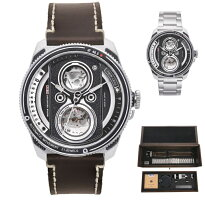 TACSタックス世界限定500本のカメラのレンズをイメージTWINLENSツインレンズ自動巻き腕時計正規代理店商品日本製TS2002A-SET