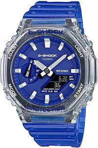 CASIOカシオG-SHOCKGショック八角フォルムのアナログ&デジタル腕時計国内正規流通商品送料無料カシオークメーカー希望小売価格15,950円GA-2100HC-2AJF