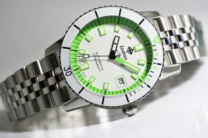 スイス製ZODIAC【ゾディアック】SuperSeaWolf53【シーウルフ】NEONSTORY【ネオンストーリー】自動巻き腕時計/正規代理店商品/ネオングリーン