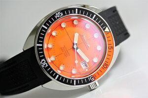 ケース直径41ミリの復刻BULOVA【ブローバ】Oceanographer【オ−シャノグラファー】DevilDiver【デビルダイバー】200m防水の自動巻き腕時計/正規代理店保証