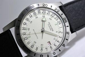 GLYCINEグリシンAirman40No1エアマン・ナンバーワン24時間表示自動巻き腕時計スイス製ミリタリーウォッチ腕時計アメリカ空軍パイロットグライシンGL0165復刻モデル世界限定1000本40ミリ