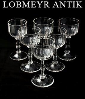 羅布梅椰古董1890葡萄酒杯II 6把安排羅布梅椰倉庫高湯品