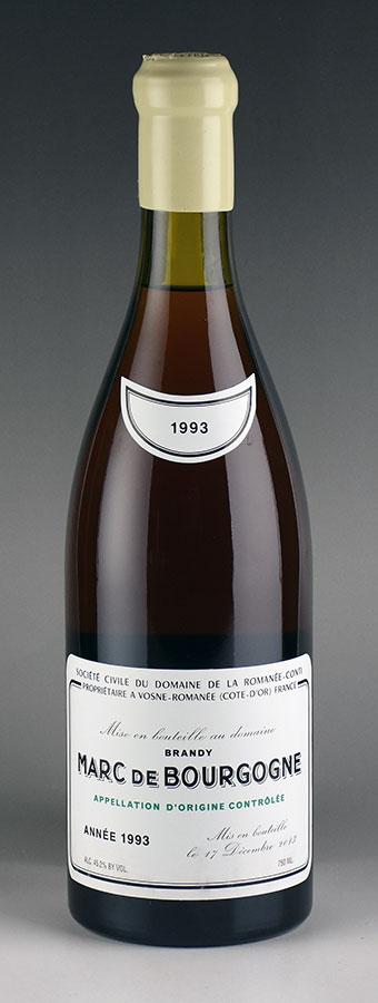 [1993] ドメーヌ・ド・ラ・ロマネ・コンティ DRC マール・ド・ブルゴーニュ:Wine Cellar KATSUDA 仏銘醸専門店