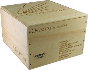 オーバーチュア【オーヴァーチュア】 6本 Overture NV 【6本木箱入り】オーパス・ワン【まとめ買い】