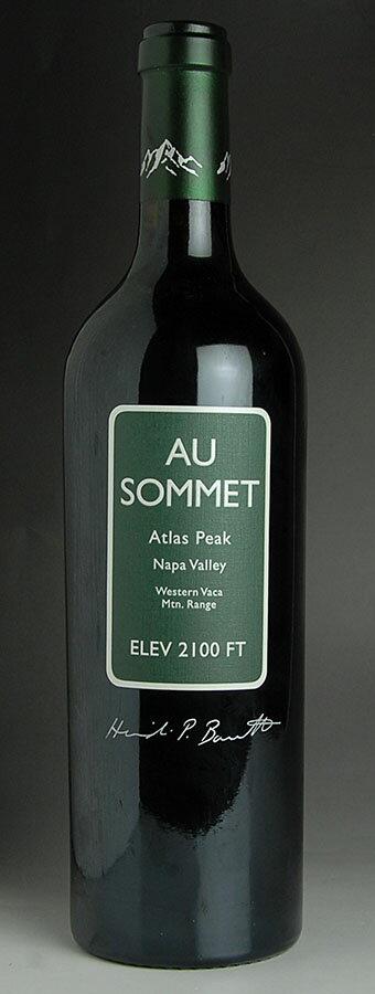 [2010] One オー Some cabernet so vinyon Napa Valley