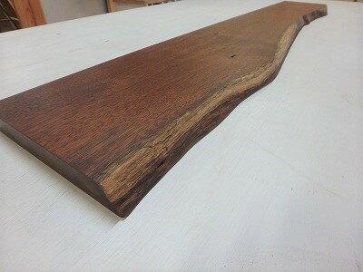 イロコ 一枚板 棚板 ミニカウンタ 天板 オイル塗装済 ニッチ