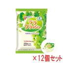 蒟蒻畑 (こんにゃくばたけ) ララクラッシュ マスカット味 (24g×8個入)×12袋セット 【特定保健用食品】