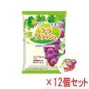 蒟蒻畑 (こんにゃくばたけ) ララクラッシュ ぶどう味 (24g×8個入)×12袋セット 【特定保健用食品】