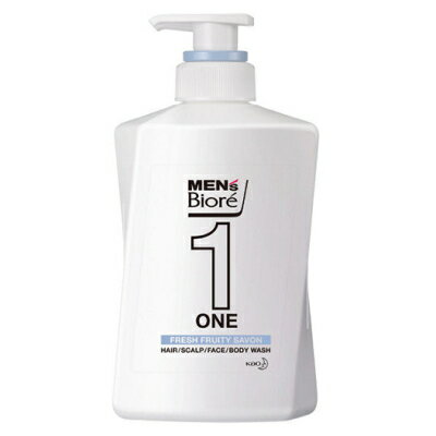 ONE オールインワン全身洗浄料 / 本体 / 480ml / 清潔感のあるフルーティーサボンの香り