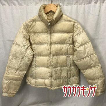 【中古】Foxfire /フォックスファイヤー ダウンジャケット ホワイト サイズS レディース アウトドア/登山 ウェア prime 93/7 DOWN 収納袋付き