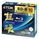 ★送料無料★TDK BD-R 録画用 インクジェットプリンタ対応 超硬 260分1-4倍速 BRV50HCPWB10A 10...