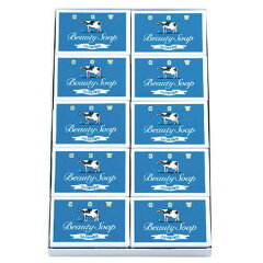 ★送料無料★牛乳石鹸共進社/カウブランド石鹸/青箱/85g×10個×3箱/ミルク成分(乳脂)配合/石...