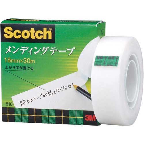 スリーエムジャパン スコッチ メンディングテープ小巻 18mm×30m