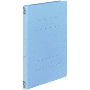 コクヨ フラットファイルV樹脂とじ具 A4縦Cブルー3冊