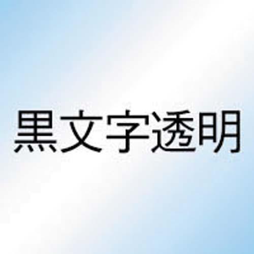 カシオ ネームランド 透明テープ 24mm 黒文字 3個入