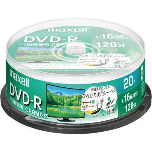 録画・録音用メディア, DVDメディア  DVDR 16 IJ 20SP