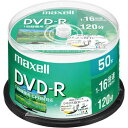 日立マクセル DVD−R録画用 16倍速 IJ対応 50枚S...