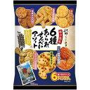 秋田いなふく米菓 6種あられせんべいアソート 3パック
