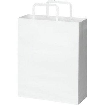 カウネット 紙袋 平紐 白 スタンダード S 50枚