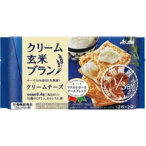 アサヒフズヘルスケア クリーム玄米ブラン クリームチーズ 6パック入
