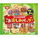 亀田製菓 亀田のおせんべいお楽しみP 7種類アソート×3