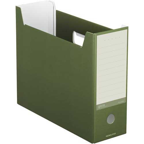 コクヨ ファイルボックス<NEOS> A4 緑 4個