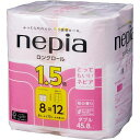 王子ネピア ネピアコンパクト 桜 ダブル45m 8個入×8