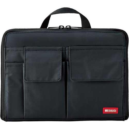 產品詳細資料,日本Yahoo代標 日本代購 日本批發-ibuy99 包包、服飾 包 箱包配件 袋組織者/袋中袋 リヒトラブ バッグ イン バッグ ワイドタイプ A5 黒