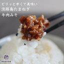 ご飯のお供に食べる味噌 淡路島たまねぎ牛肉みそ 140g×4...