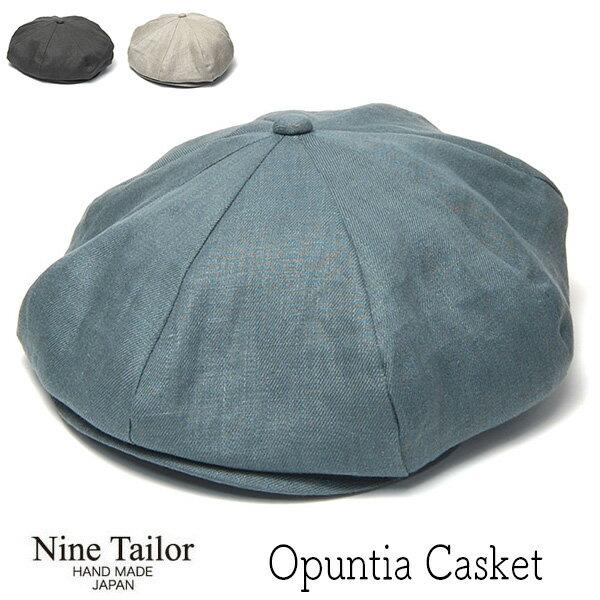 メンズ帽子, ハンチング・キャスケット 21 NINE TAILOR() 8 Opuntia Cas