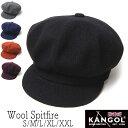 """帽子 """"KANGOL(カンゴール)""""ウールキャスケット (WOOL SPITFIRE)【あす楽対応】【送料無料】[大きいサイズの帽子アリ][小さいサイズあり]【コンビニ受取対応商品】"""