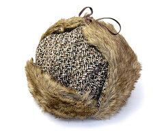 """冬の雰囲気満点のファー付き飛行帽!イギリス""""KANGOL(カンゴール)""""ファー付き飛行帽[IRREGULA..."""
