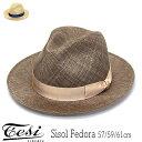 """帽子 イタリア""""TESI(テシ)""""シゾール中折れ帽[ハット] 【あす楽対応】 [大きいサイズの帽子アリ]【コンビニ受取対応商品】"""