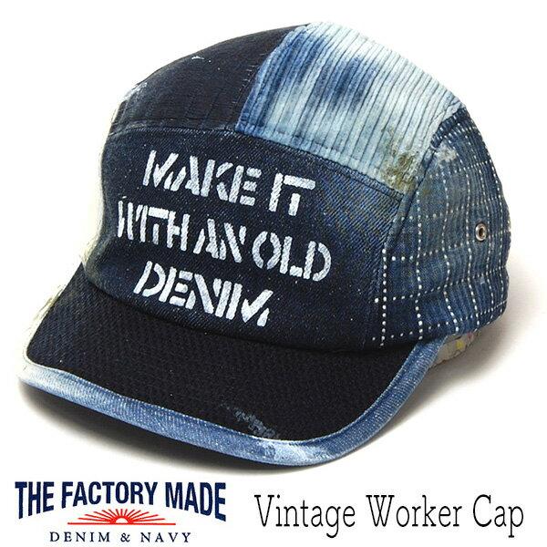 メンズ帽子, キャップ  THE FACTORY MADE() VINTAGE WOKER CAP