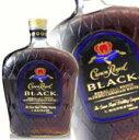 クラウンローヤル ( クラウンロイヤル ) ブラック 750ml 45度 箱なし ウィスキー カナディアンウイスキー kawahc