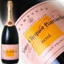 ヴーヴクリコ ポンサルダン・ブリュット ローズラベル (ロゼ) マグナムボトル 1.5L (1500ml) 正規輸入品 VEUVE CLICQUOT ROSE wine Cam..