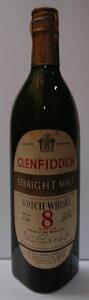 グレンフィディック 8年 ホワイトラベル 750ml 43度 1960年 代オールドヴィンテージ オフィシャ...