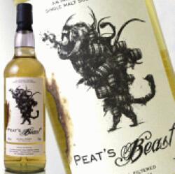 スコッチ・ウイスキー, モルト・ウイスキー  700ml 46 (PEAS BEAST) kawahc