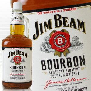バーボン, ストレート  1750ml 40 (Jim Beam White) kawahc