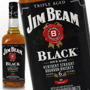 バーボン, ストレート  6 700ml 40 kawahc Jim Beam Black kawahc
