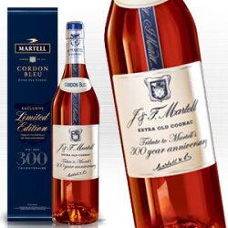 マーテルコルドンブルー正規輸入品MartellCordonBlue300周年記念ボトル