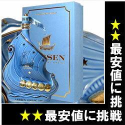 ブランデー, コニャック  700ml 40 (Larsen Sky Blue Viking Ship Fine Champagne Cognac) kawahc