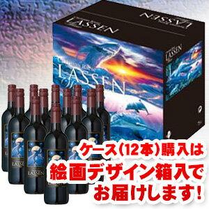 ※おひとり様1ケース限り。ケース購入で1本あたり999円 更に絵画デザイン箱入りでお届け クリスチャンラッセン赤ワイン750ml