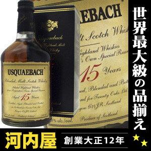 ウシュクベー ブレンデッドモルト 15年 700ml 43度 Usquaebach Pure Highland Malt 格安ウシュ...